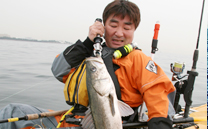 Prowler Big Game Angler カヤックフィッシング1